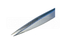 Tweezers with flat and heavy tips