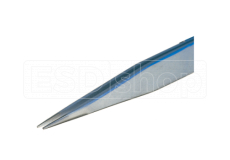 Tweezers sharp flat 105mm