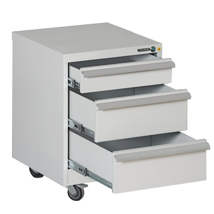 Esd Cabinet 3 Drawers On Wheels Tp 01 S, Cabinet On Wheels